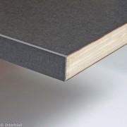 Vlak werkblad 25mm multiplex afgewerkt met ABS