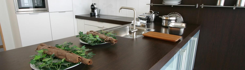 HPL keukenblad met HPL randafwerking