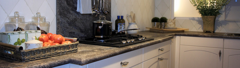 HPL keukenblad met waterkering